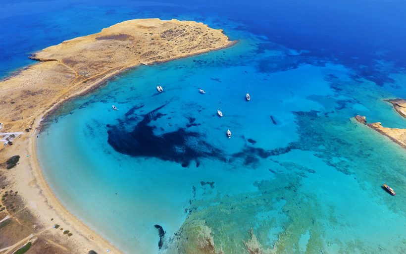 Puno Jedro egejsko more KOUFONISIA