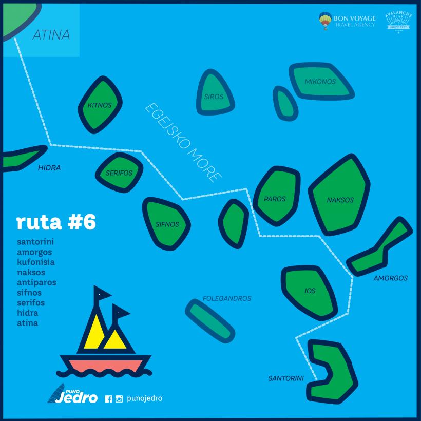 Puno jedro Mapa_ruta6 Santorini - Atina_Egejsko more-01