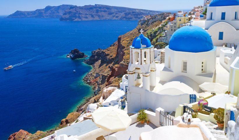 Puno Jedro egejsko more santorini